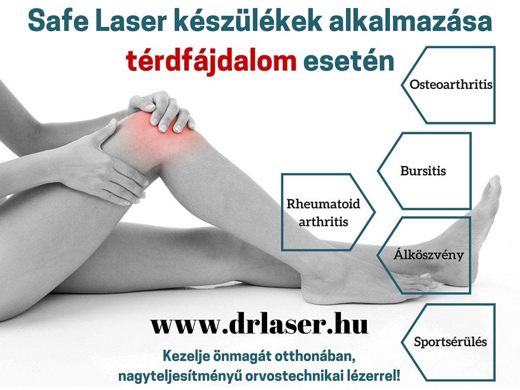 térdfájdalom-kezelési kezelés