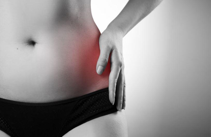 lokalizált fájdalom a csípőízületben