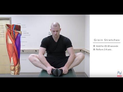 ágyék fájdalom, amely kiterjed a csípőízületre
