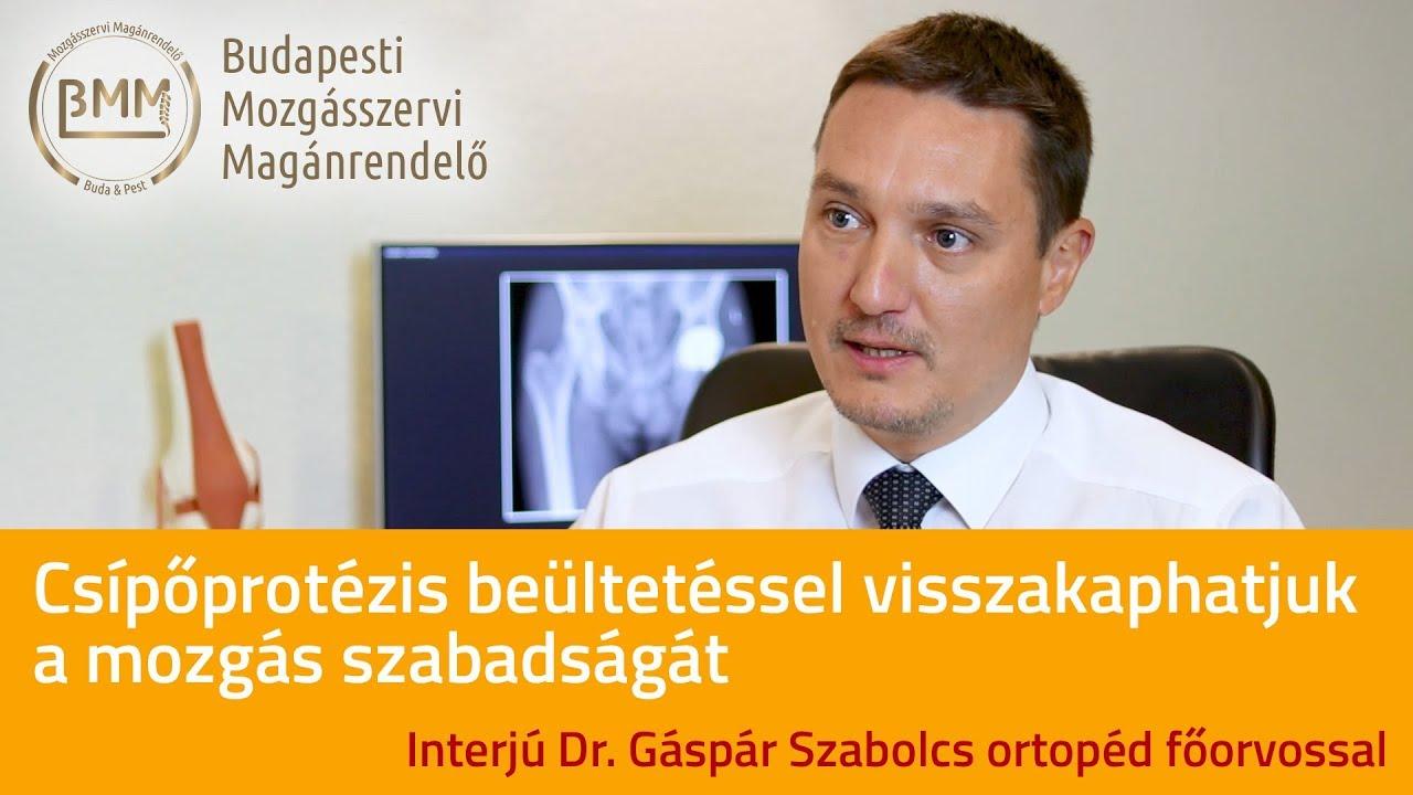 az ortopéd orvos az artrózist kezeli
