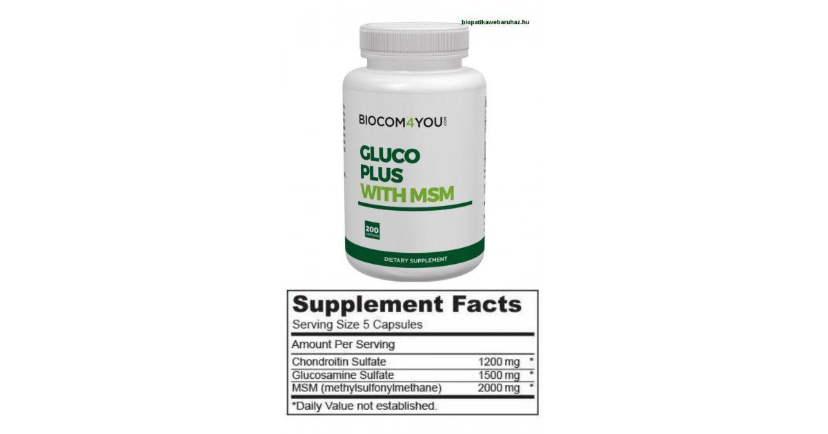 kondroitin glükózamin gyógyszerekkel
