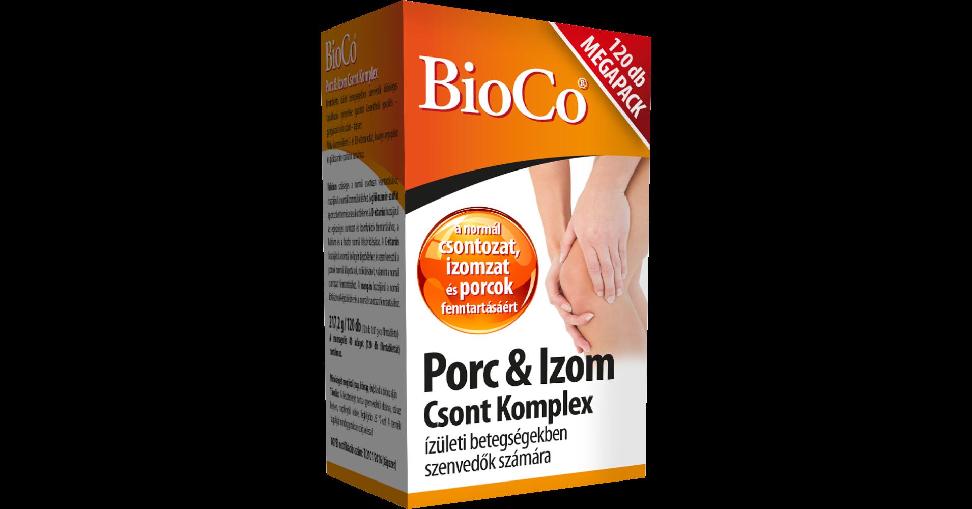 BioCo Porc Izom Csont Komplex 120 db