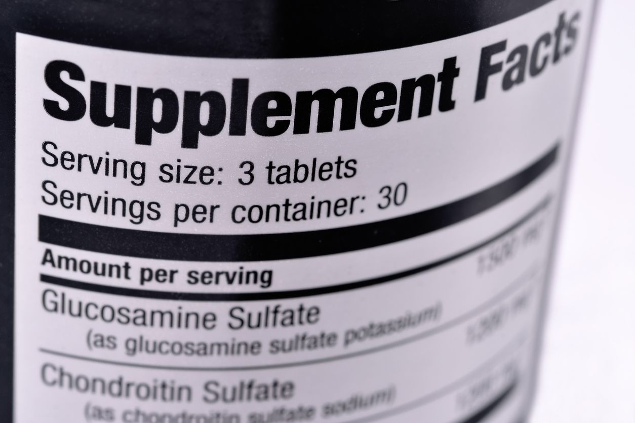 nagykereskedelmi kondroitin glükózaminnal)