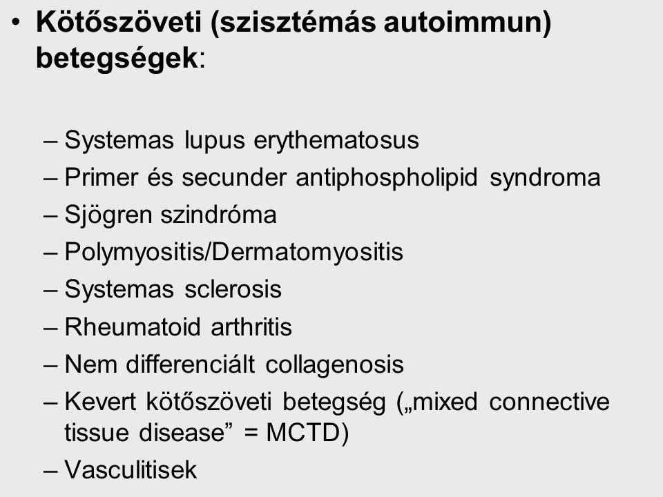dzst kötőszövet diffúz betegségei vagy kollagenózis)
