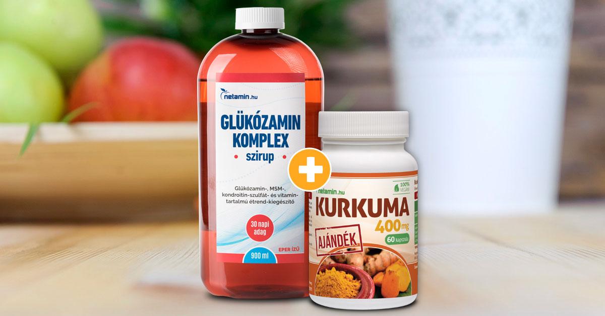 folyékony kondroitin és glükozamin)