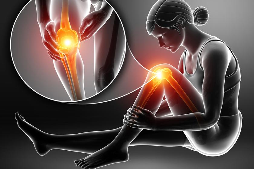 fájdalom és megjelenés a térdben