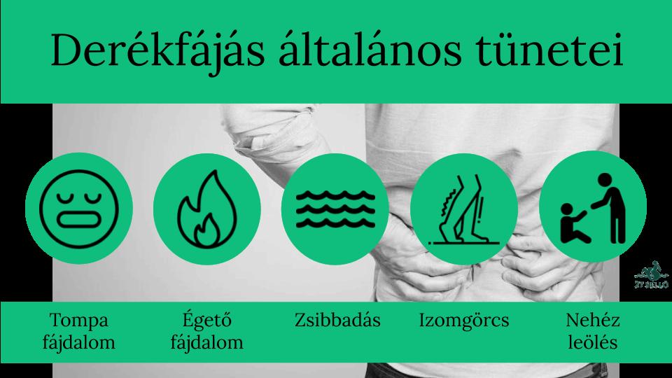 az ízületek és a derék alsó része fáj)