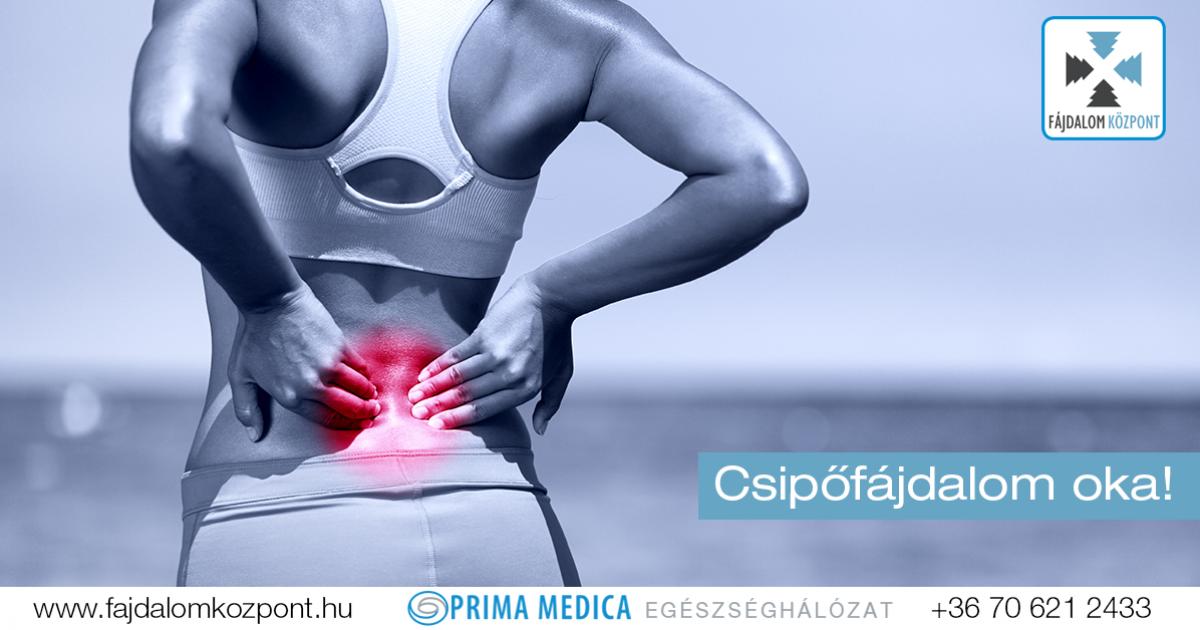 csípő fájdalom a csípő területén