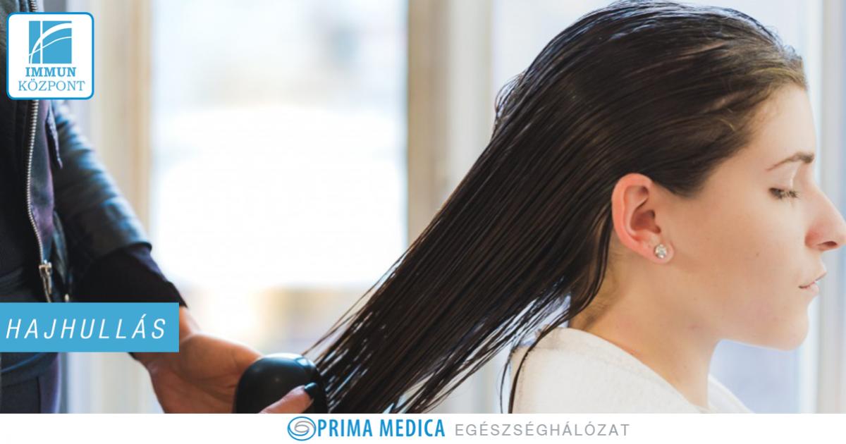 hajhullás és ízületi fájdalom tünetei