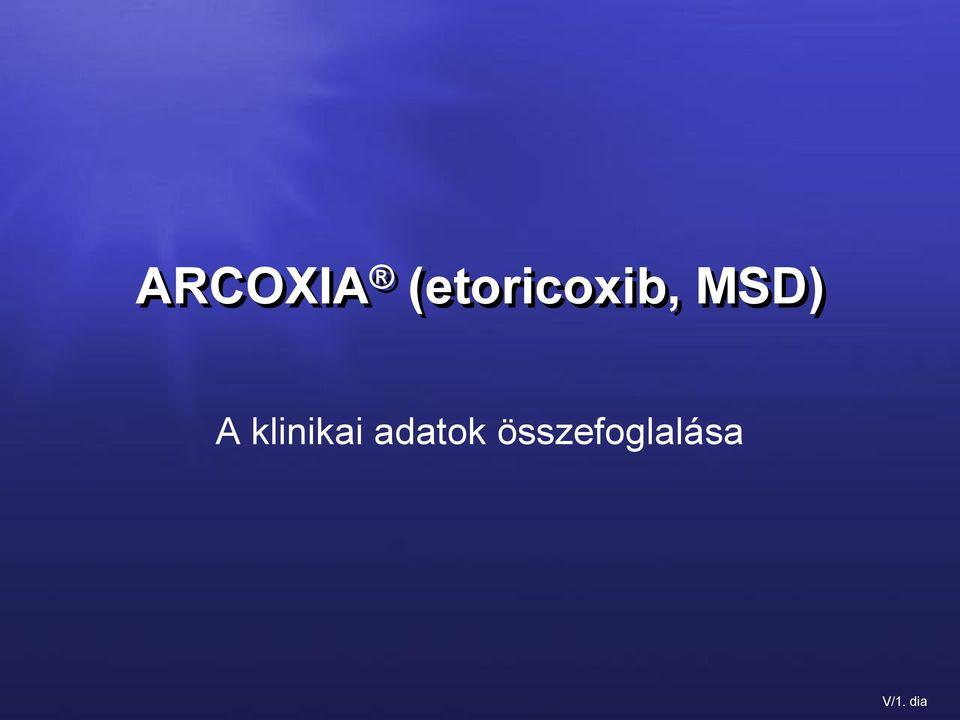 gyulladásgátló gyógyszerek arkoxia ízületekre