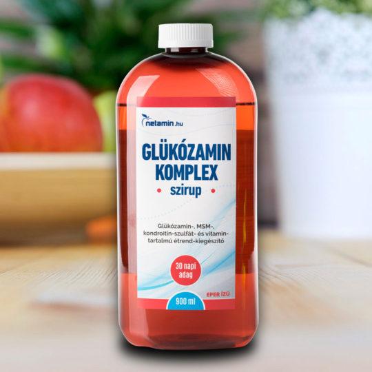 amely glükozamint és kondroitint tartalmaz