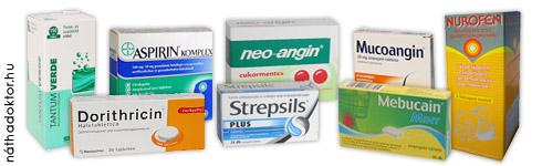 gyógyszerek gyógyítása
