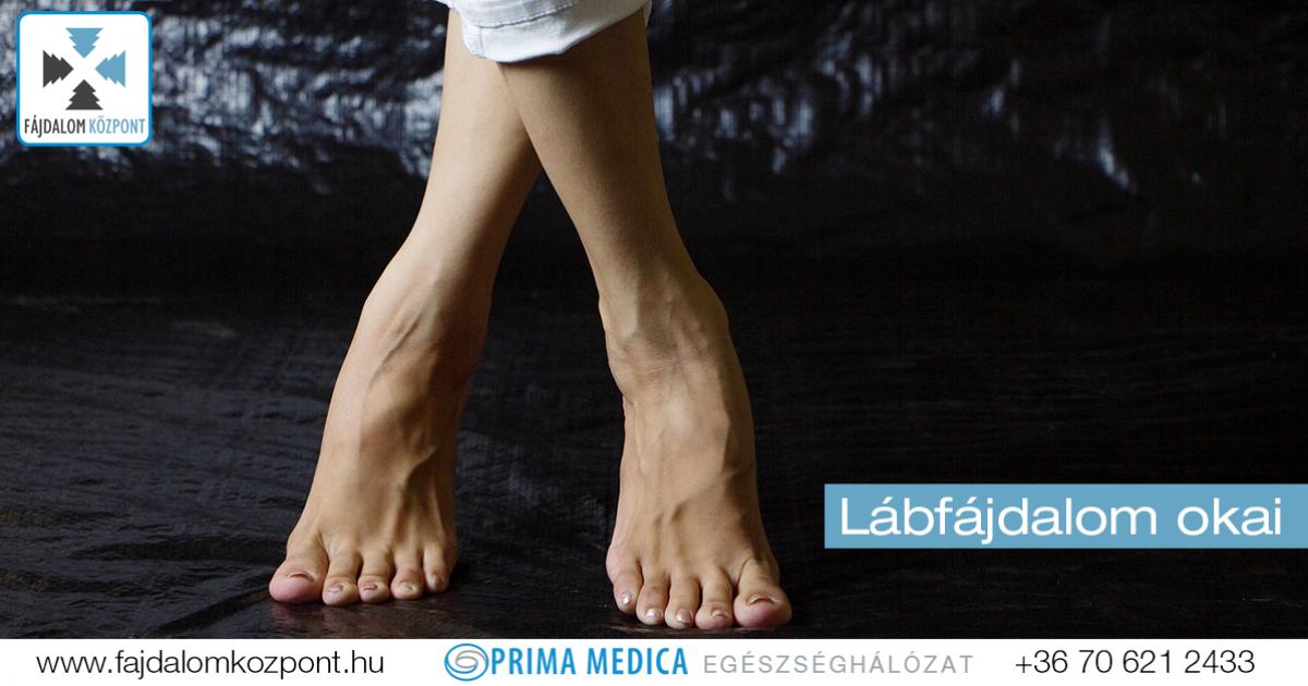 fájdalom a lábak alsó ízületeiben)