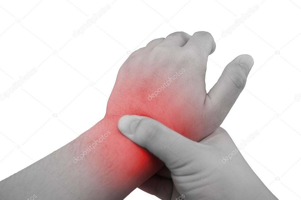 csukló fájdalom meghosszabbításkor
