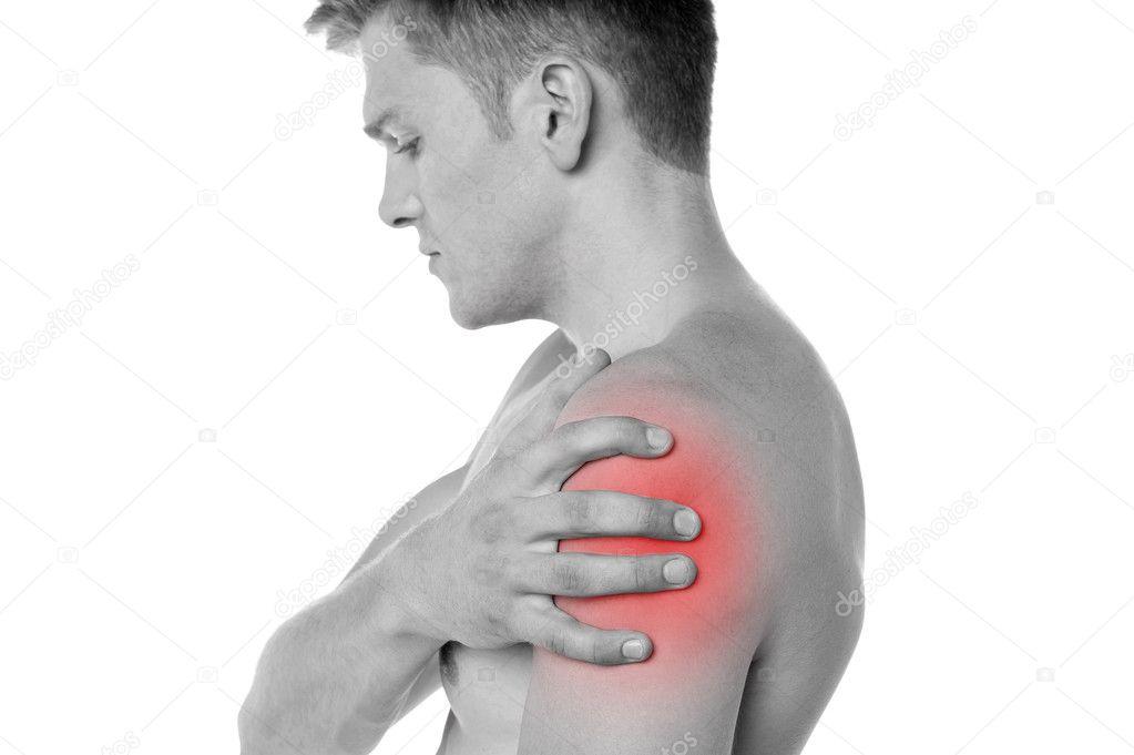 lövés a fájdalom a vállízületben