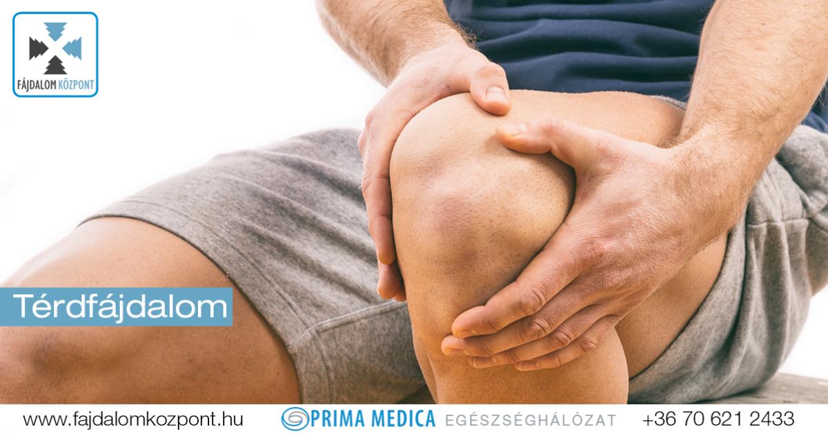 a térdízületeket fájdalom okozza