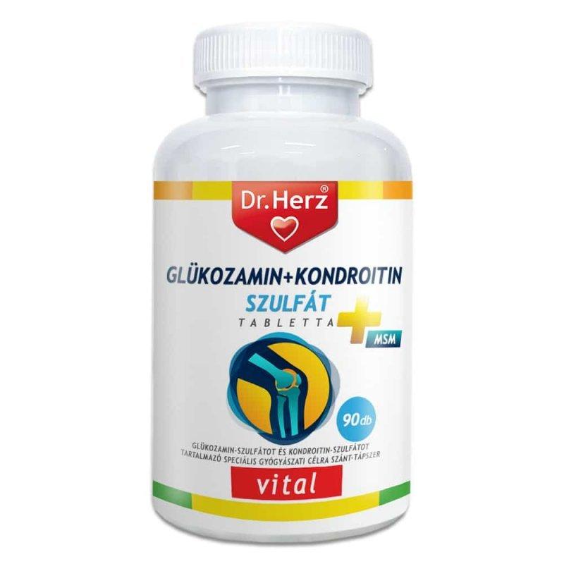 glükózamin és kondroitin adagolása