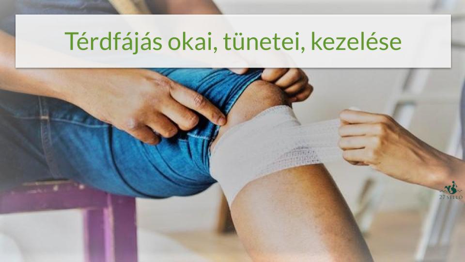 miért fáj a térdízület járás közben