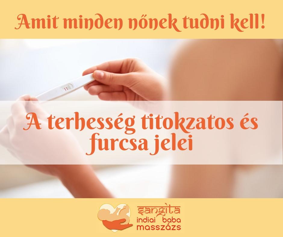 Minek a jele a terhesség alatti hasi fájdalom?